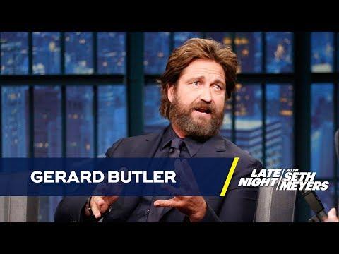 Gerard Butler Almost Overdosed on Bee Venom