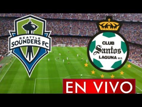 Donde ver Santos vs. Seattle Sounders en vivo, semifinal , Leagues Cup 2021