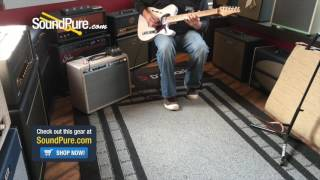 John Suhr Classic T Trans White TV Jones Electric #31386 Quick n' Dirty