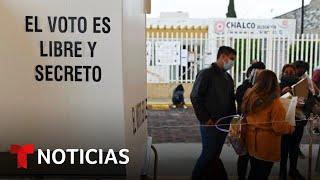 EN VIVO: Votantes en México acuden a las urnas en unas cruciales elecciones intermedias