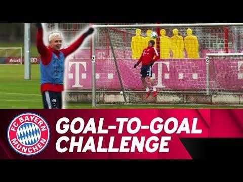 FC Bayern Goal-to-Goal Training Challenge w/ Rafinha, Ribéry & Müller