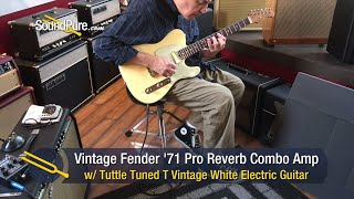 Vintage Fender 1971 Pro Reverb Combo Amp - Used