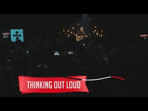 connectYoutube - Ed Sheeran - Thinking Out Loud (Live on the Honda Stage at the iHeartRadio Theater NY)