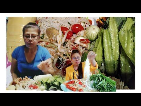 ตำซั่วขนมจีน-เผ็ดหูลูบ-แซ่บโพด
