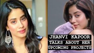 Actress Jhanvi Kapoor shares about her upcoming projects, release, and more | Tellychakkar - TELLYCHAKKAR