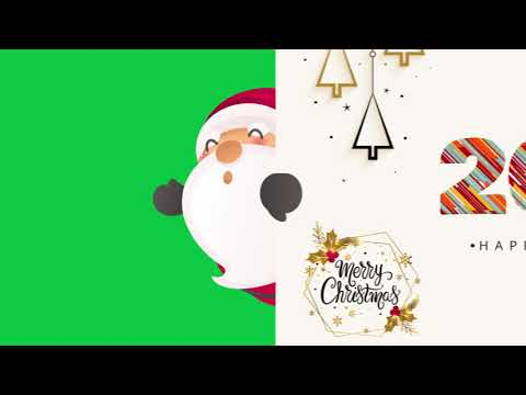 Christmas and New Year - Green Screen 2019 - Free