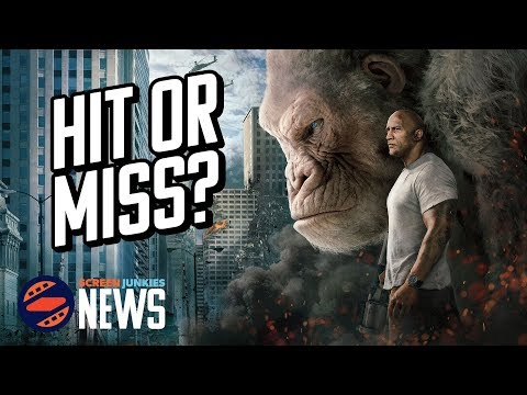 'Rampage' Opens #1, But Is It a Hit? - Charting with Dan!