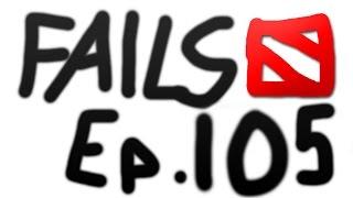 Dota 2 Fails of the Week - Ep. 105
