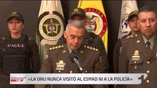Las puertas del Esmad están abiertas: general Atehortúa a la ONU