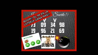 BOOM!! EL 98 EN LA LOTERIA GANA MAS!!????????????