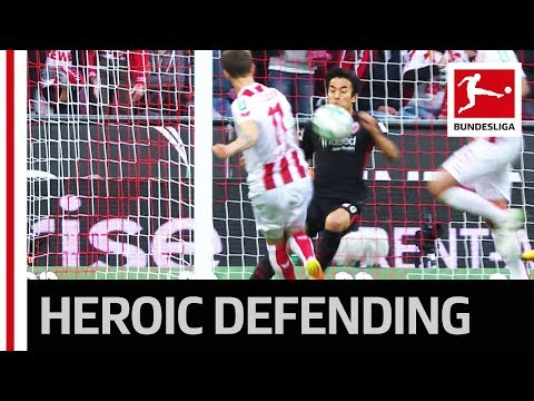 Defender Save! - Hasebe Puts His Neck on the Line
