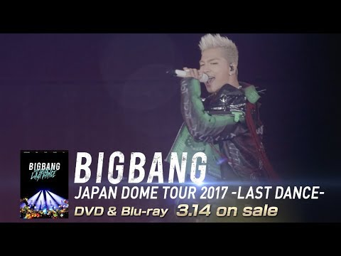connectYoutube - BIGBANG JAPAN DOME TOUR 2017 -LAST DANCE- (SOL TEASER_DVD & Blu-ray 3.14 on sale)