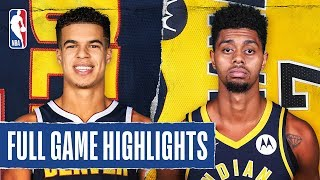 NUGGETS at PACERS | FULL GAME HIGHLIGHTS |  January 2, 2020