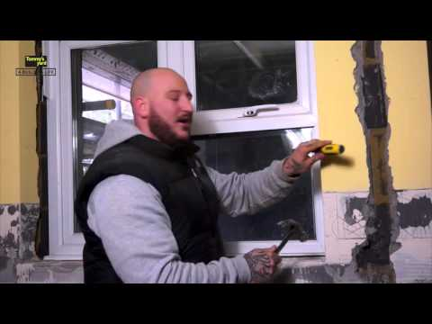 Tommy's Yard How to remove and replace a pane of glass