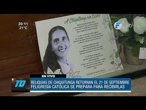 Reliquias de Chiquitunga llegarán a Paraguay el 21 de septiembre