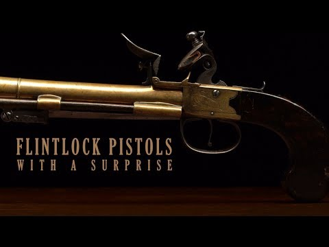 Flintlock Pistols with a Surprise