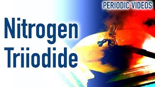 Nitrogen Triiodide (touch powder) - Periodic Table of Videos