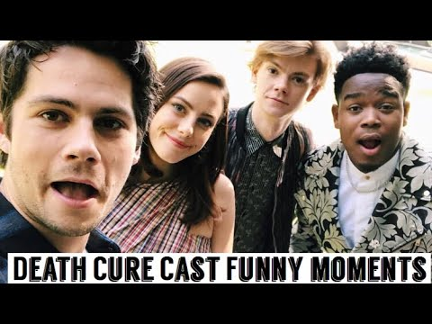 connectYoutube - Maze Runner Cast: The Death Cure | Funny Moments