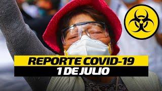 Coronavirus México | Cifras oficiales por Covid-19 | 1 de julio
