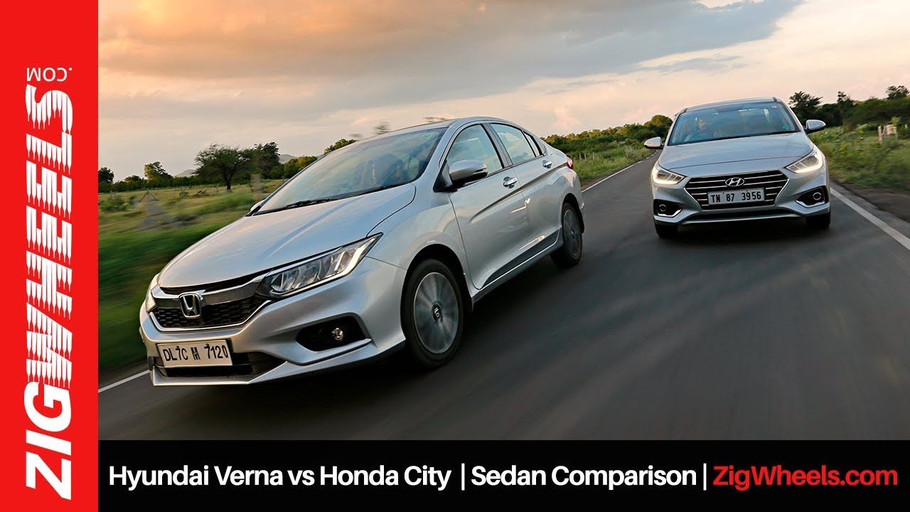 Honda City vs Hyundai Verna | Sedan Comparison | ZigWheels.com