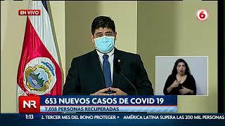 Presidente Carlos Alvarado pide a su gabinete la reducción de 15% de sus salarios