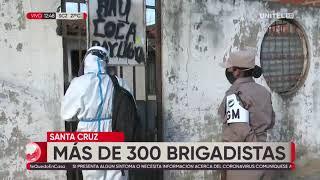 178473 mas de 300 brigadistas en santa cruz
