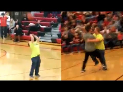 connectYoutube - 18-Year-Old With Down Syndrome Makes Half-Court Shot