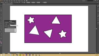 Adobe Illustrator CS6 for Beginners - Tutorial 54 - Compound Paths