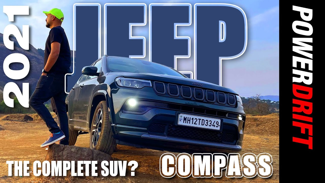 2021 Jeep Compass | Comprehensive On- and Off-road test | PowerDrift