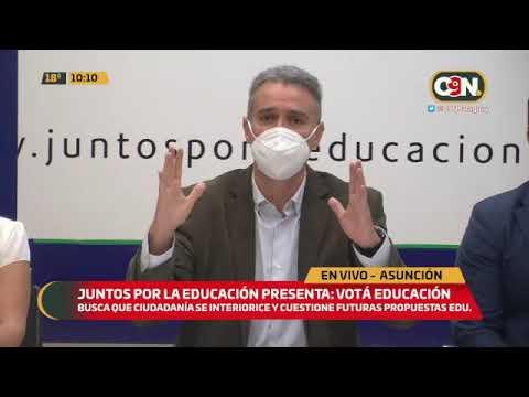 Juntos por la educación presenta: Votá Educación.