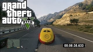 GTA 5: WORLD RECORD! (Fastest Lap Around Los Santos) Grand Theft Auto 5