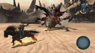 Darksiders Playthrough HD Part 57 Stygian Worm Boss Fight