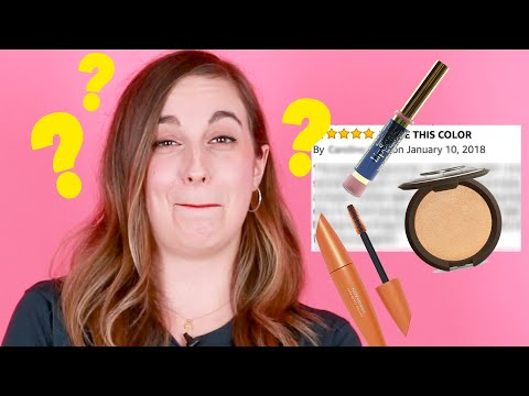 Women Try To Read Crazy Makeup Reviews Without Laughing