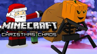 Minecraft: CHRISTMAS CHAOS! - Mini Game