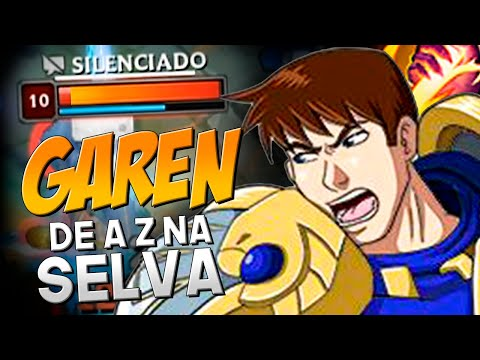 JOGUEI TRYHARD DE GAREN PREDADOR NO GOLD, TÁ BUFADÃO! | DE A-Z NA SELVA | GAREN