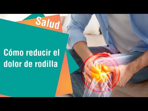 Cómo reducir el dolor de rodilla | Salud