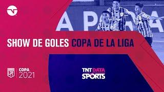 Show de goles de la fecha 8 de la Copa de la Liga Argentina