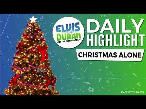 connectYoutube - Christmas Alone | Elvis Duran Daily Highlight