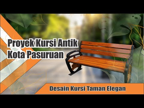 Kursi Antik Pedestrian | Street Furniture