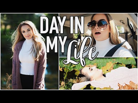 Day In My Life | Get Ready With Me, Fall Photoshoot, & Too Faced Event