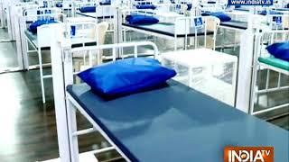 Watch: BMC creates 1700-bed Covid dedicated health centre in Mulund, Mumbai - INDIATV