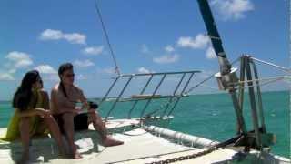 Mauritius Catamaran cruise to Ile Aux Cerfs Island