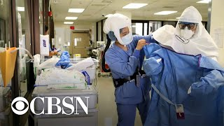 Study identifies risk factors for COVID-19 deaths as PPE runs short again