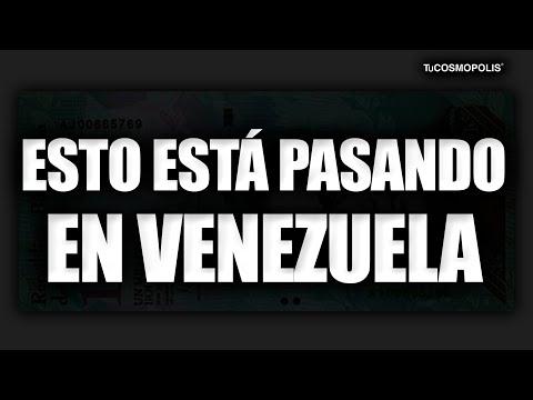 Esto está PASANDO en VENEZUELA y NO, NO SON BUENAS NOTICIAS