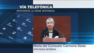 Preferible concluir el ciclo escolar por la vía virtual: Carmona Salas.