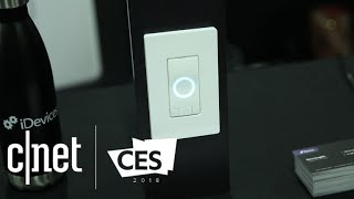iDevices Instinct: A Wi-Fi light switch with an Alexa speaker inside