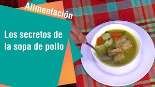Sopa de pollo para mejorar la salud