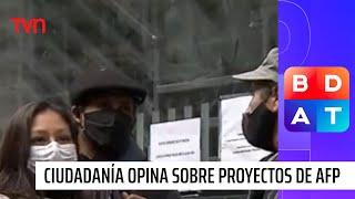 ¿Cuarto retiro o todo: Polémicos proyectos sobre ahorros en las AFP | Buenos días a todos