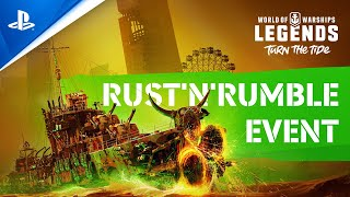 World of Warships: Legends - Rust 'n' Rumble Halloween Event Announcement | PS4