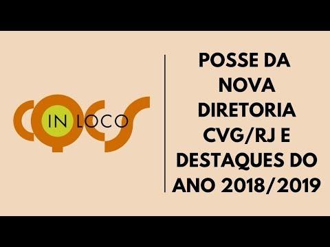 Imagem post: Posse da nova diretoria CVG/RJ e destaque do ano 2018/2019